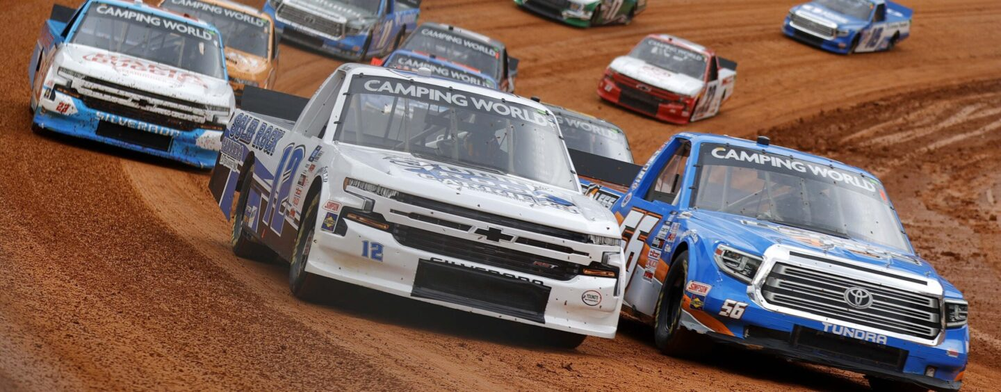 NASCAR Camping World Truck Series Dirt Race At Bristol Postponed Until Sunday