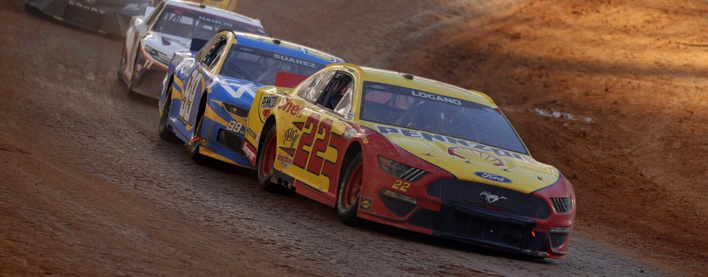 Joey Logano Wins His First Dirt Race At Bristol Motor Speedway In Dramatic Fashion