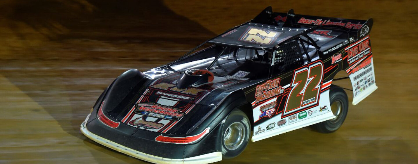 Ferguson Races To Super Late Model Victory Friday At Karl Kustoms Bristol Dirt Nationals