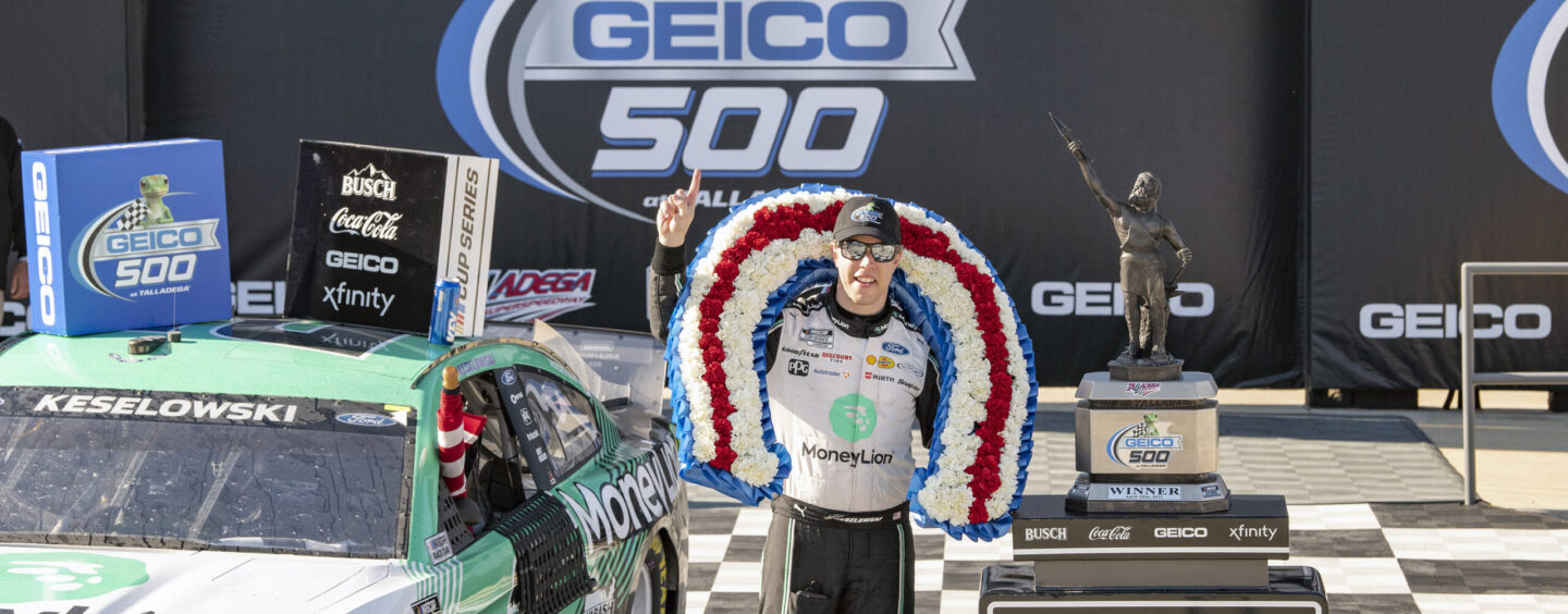 Saving The Best For Last: Keselowski Surges To Lead On Final Lap To Win GEICO 500 At Talladega Superspeedway