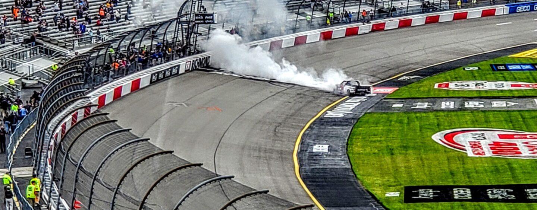 John Hunter Nemechek Holds Off Kyle Busch To Win Truck Race At Richmond