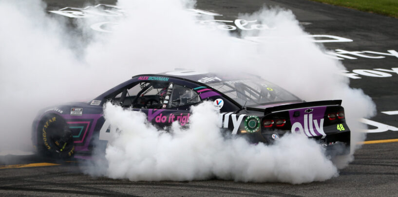 Alex Bowman Overcomes Pit Road Penalty And Pulls Off Upset In Richmond