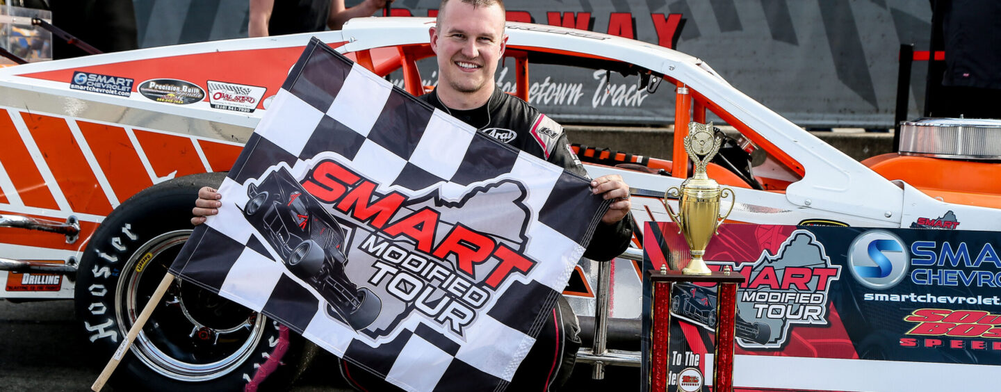 Preece Wins SMART Modified Tour Race At South Boston Speedway; Trey Crews Tops Field For Late Model Stock Car Win
