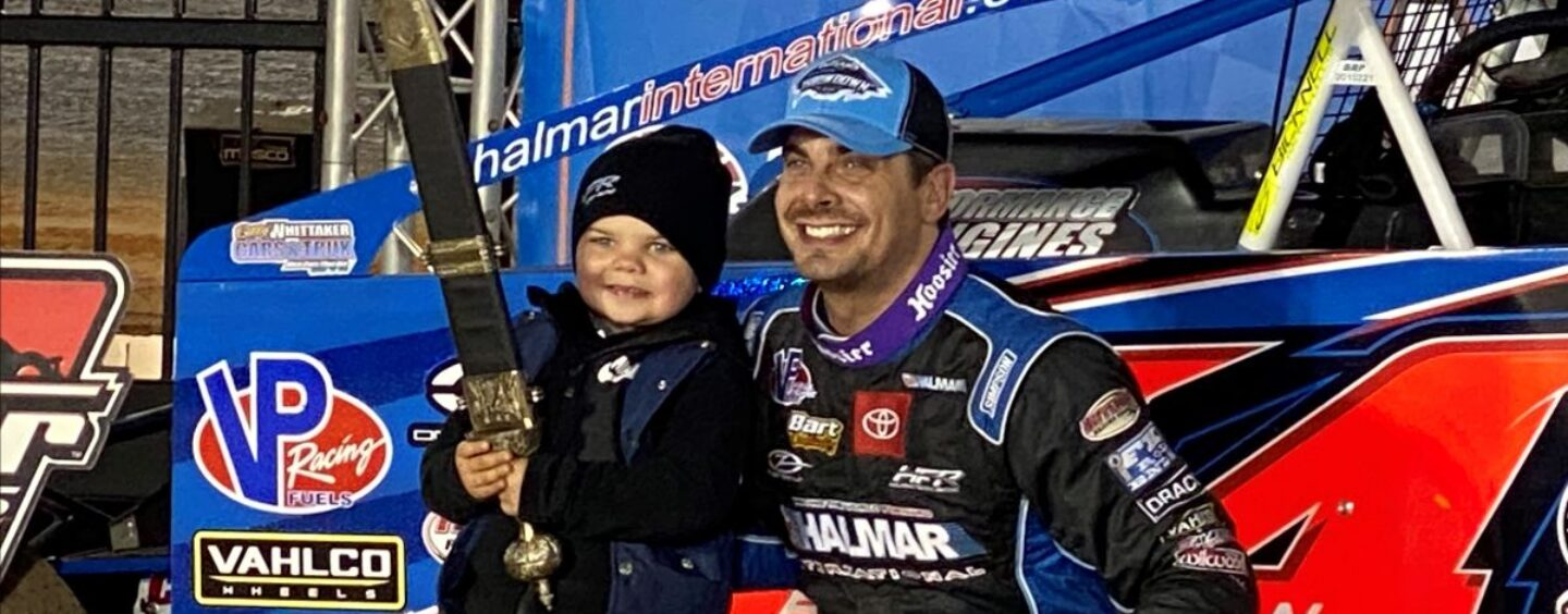 Gravel And Friesen Earn Friday Feature Victories In World Of Outlaws Bristol Throwdown