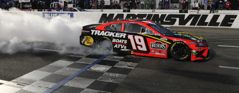 Martin Truex Jr. Wins Third Grandfather Clock At Martinsville Speedway