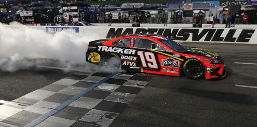 Martin Truex Jr. Wins Third Grandfather Clock At Martinsville Speedway