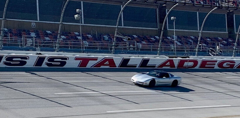 Over $45,000 Raised For Alabama Tornado Victims During Friday's Track Drive At Talladega Superspeedway