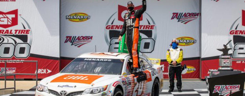 Making History: Heim Wins General Tire 200 At Talladega Superspeedway