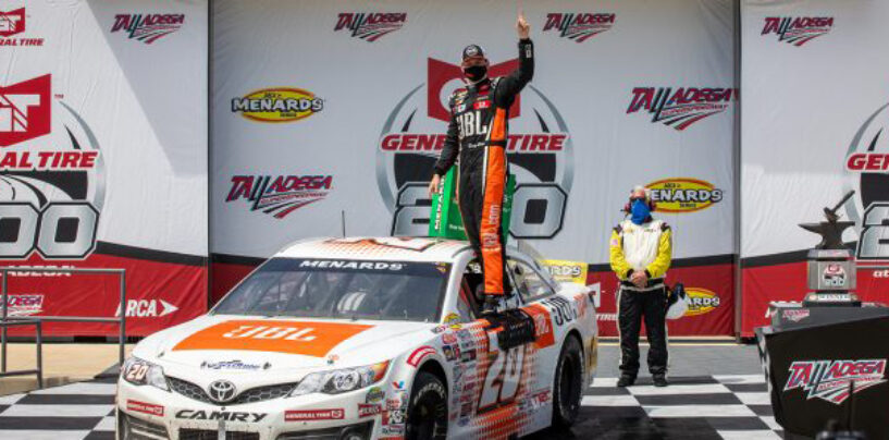Making History: Heim Wins General Tire 200 At Talladega Superspeedway