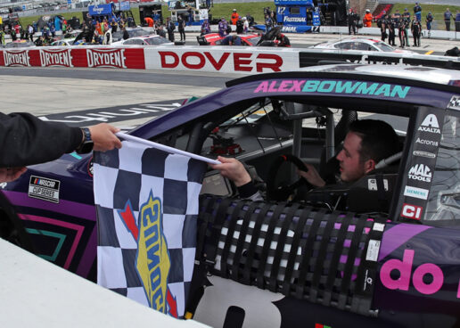 "Alex Bowman Leads Hendrick Sweep To Win ""Drydene 400"" At Dover International Speedway"