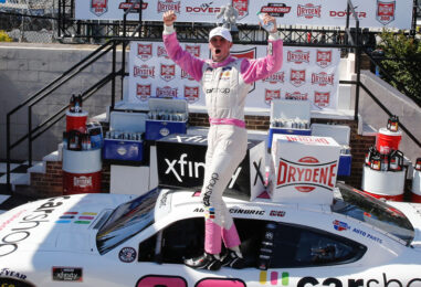 Austin Cindric Gains First Dover Victory In 'Drydene 200' NASCAR Xfinity Series Dash 4 Cash Race