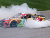 Kyle Busch Gets Birthday Present With A Win At Kansas