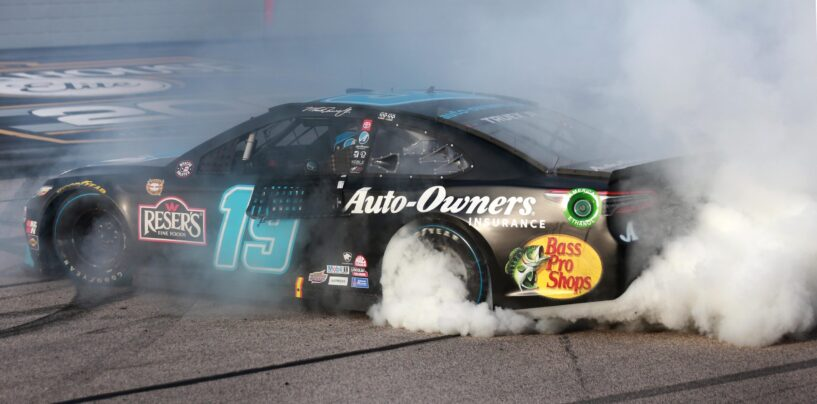 Martin Truex Jr. Holds Off Kyle Larson To Win Goodyear 400 At Darlington Raceway