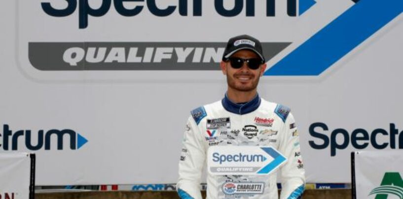 Larson Sprints To Pole Position For Sunday's 62nd Running Of The Coca-Cola 600