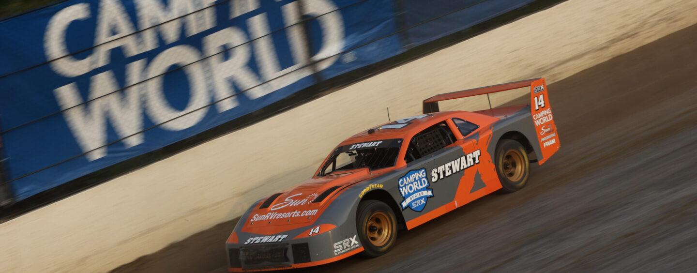 Stewart Snares Second Straight SRX Win