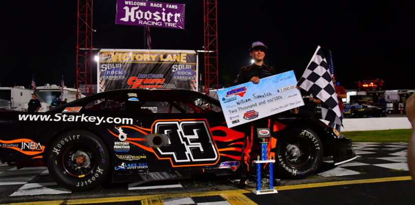 William Sawalich Scores First Career Pro Late Model Victory At Carteret County