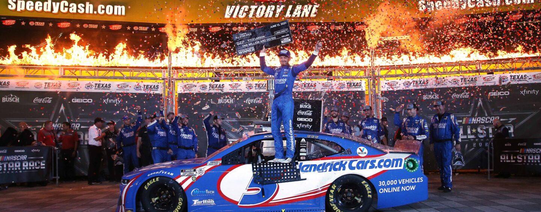 Kyle Larson Continues Hot Streak With NASCAR All-Star Race Win