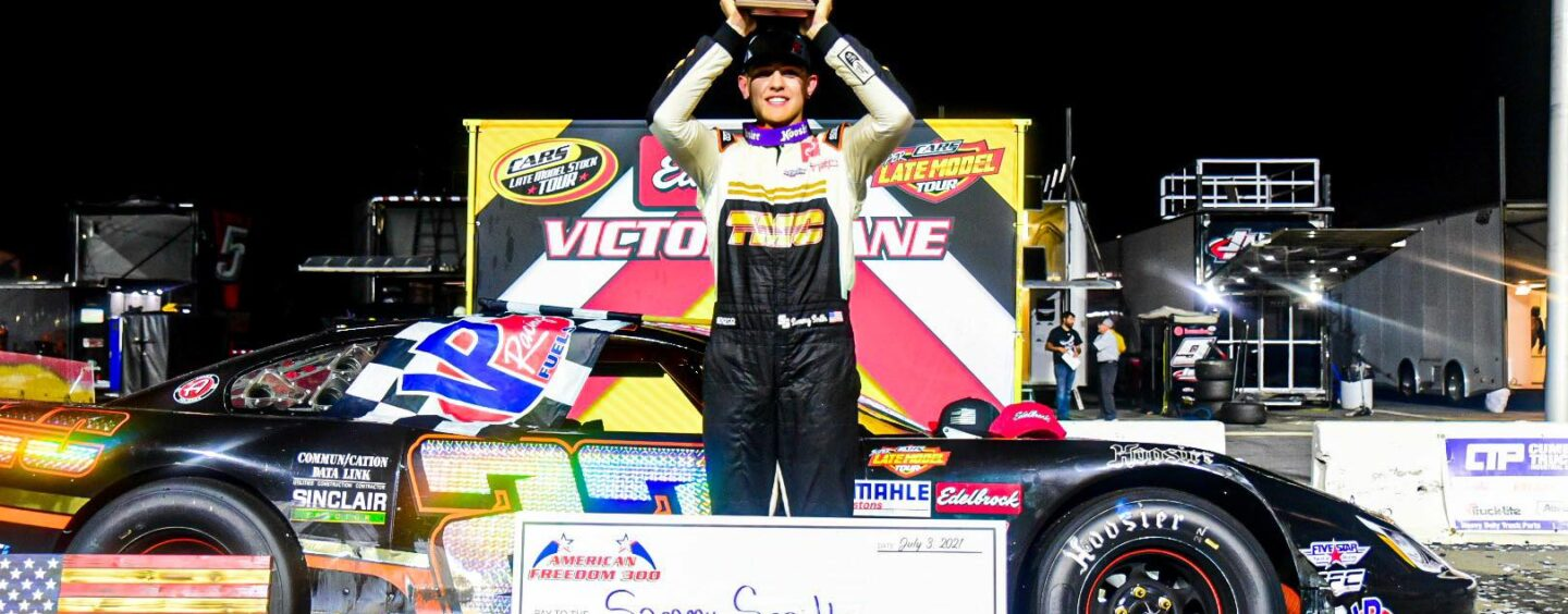 Sammy Smith Celebrates Fourth Of July Weekend With CARS Tour $20,000 Win At Jennerstown