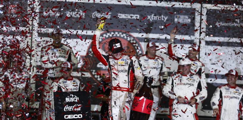 Blaney Takes The Victory, Reddick Clinches Playoff Spot And Larson Wins Regular Season Championship In Coke Zero Sugar 400 At Daytona International Speedway