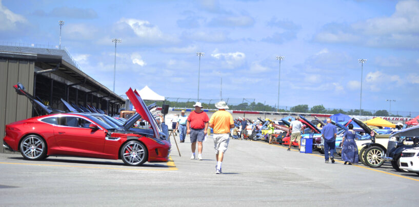 STORY & PHOTOS: August 2021 Track Laps for Charity at Darlington Raceway