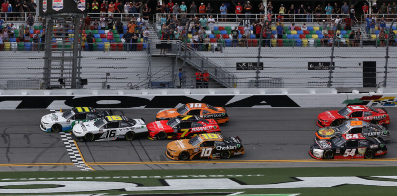 Blink-Of-An-Eye Finish Sees Haley Edge Teammate Allmendinger To Win Wawa 250 Powered By Coca-Cola At Daytona International Speedway