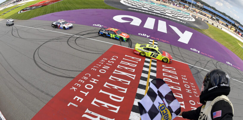 Ryan Blaney Puts Ford Back In Victory Lane At Michigan
