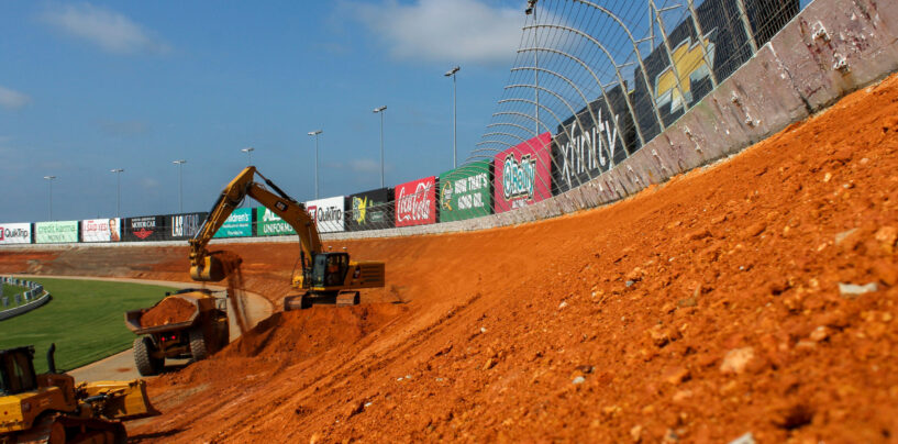 All-New Atlanta Motor Speedway Quickly Taking Shape