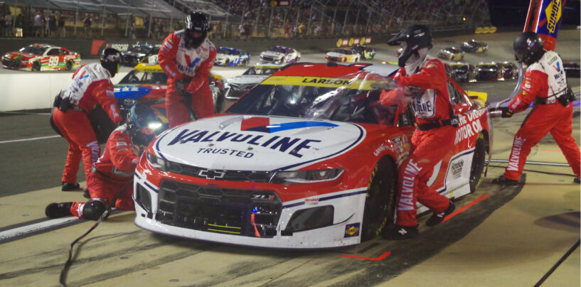 Kyle Larson Continues Momentum In NASCAR Playoffs With Win At Bristol