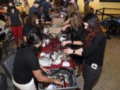 Darlington Raceway & NASCAR Kids Host Blessings In A Backpack Event At Darlington Raceway Stock Car Museum