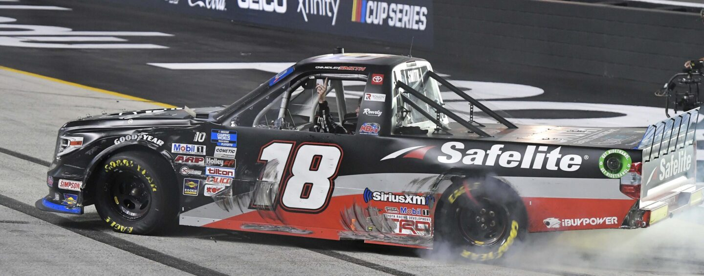 Chandler Smith Advances In NASCAR Truck Playoffs With Thrilling Victory At Bristol