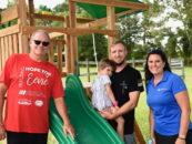 Darlington Raceway, The NASCAR Foundation & Pull'R Holding Company Build Hope For Eevie