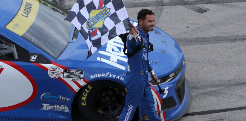 Kyle Larson Secures Spot In Championship Four After Dominant Texas Win